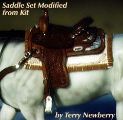 Custom Saddle set by Terry Newberry